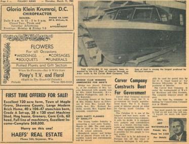 Carver Ad 1965