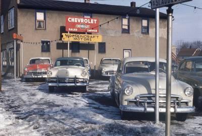 Woosencraft Motors 1950s