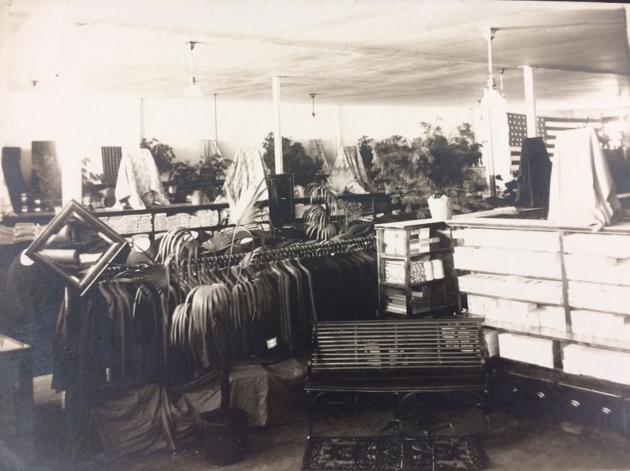 White Store Interior