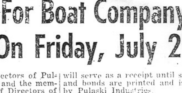 Carver News Clipping 1956