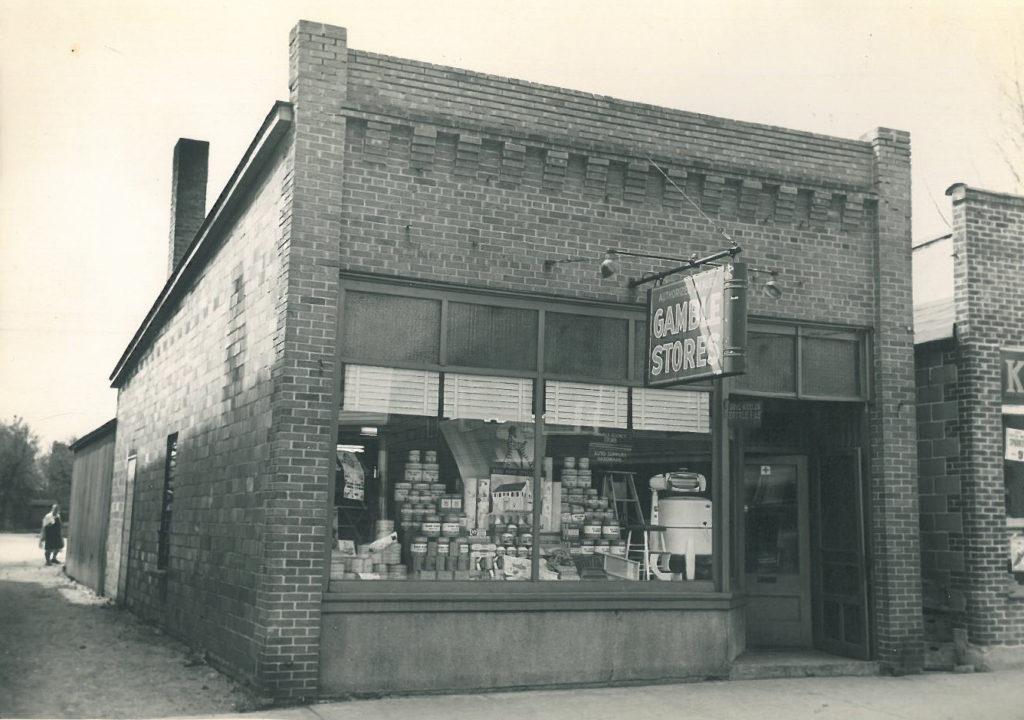 1934 Gajewski's Gamble Store