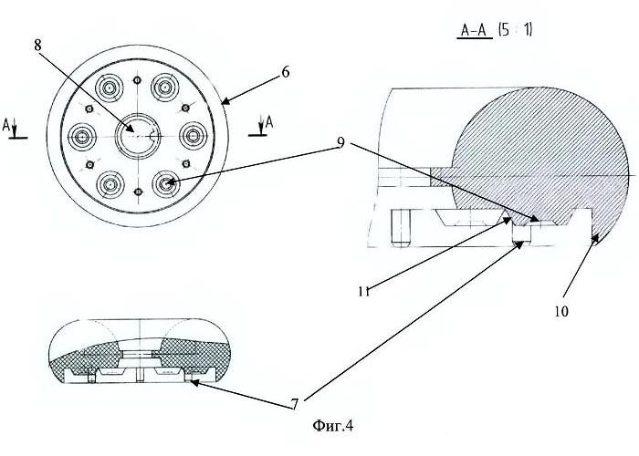 чертежи линзовой светодиодной матрицы, выполненной в виде усеченного тора