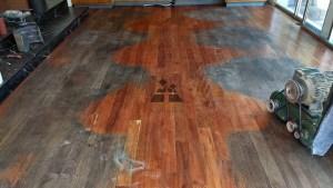 pulido de piso de madera 2