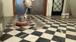 como pulir pisos de marmol