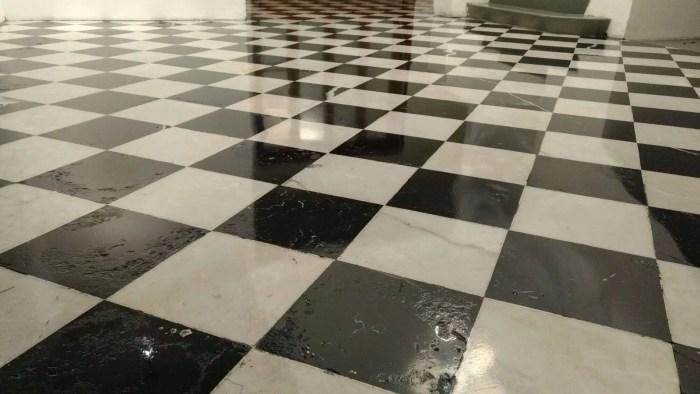 como pulir pisos de marmol y granito