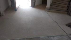 desbastado de piso de mármol