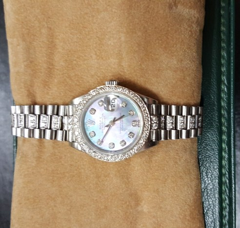 Lady's DATEJUST $4,500