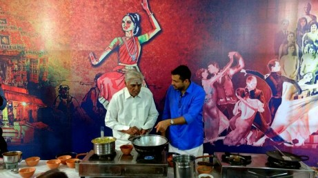With the Legend. Shri Mountbatten Mani Iyer