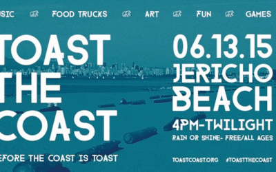 Toast the Coast Festival at Jericho Beach