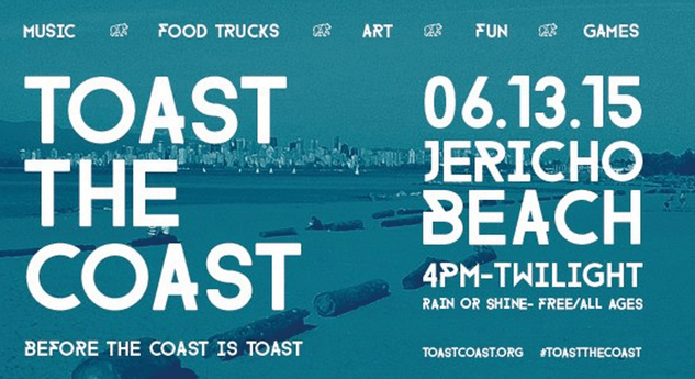 Toast the Coast Festival at Jericho Beach