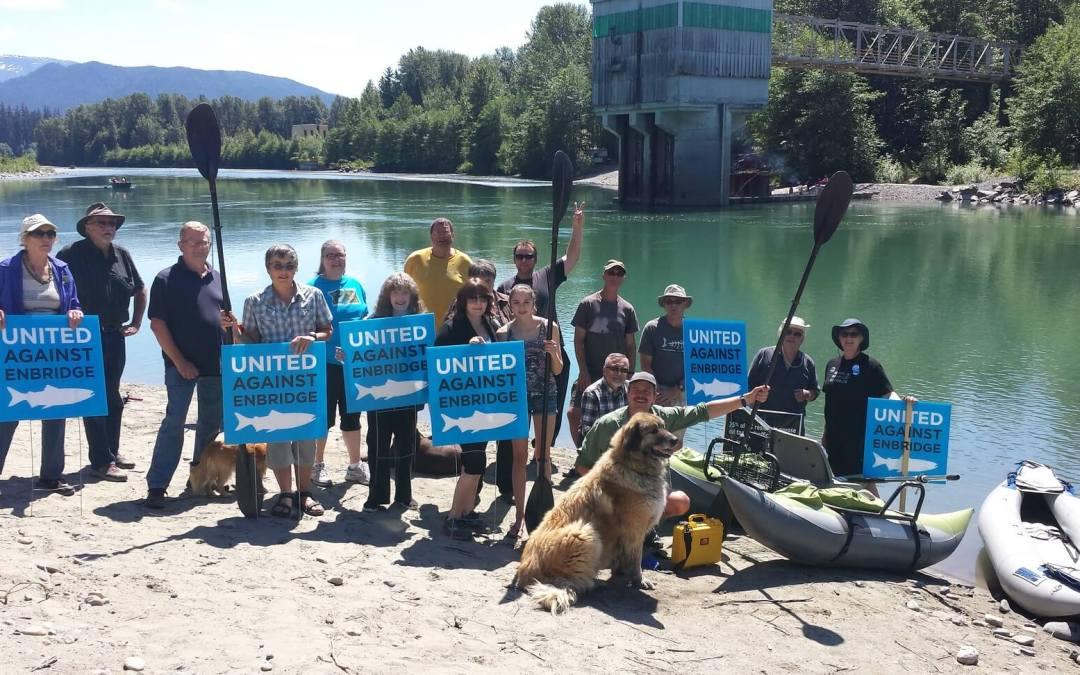 "Kitimat ""Splash Mob"" raises funds for Pull Together"