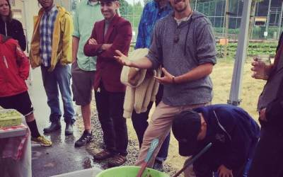 Vancouver: Young Agrarians raise nearly $1000 with potluck