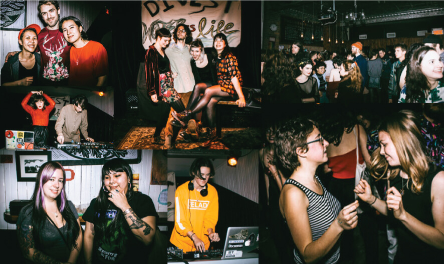 Montreal collective Bouteroua raise $1300 on Valentine's Day!