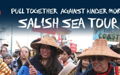 Salish Sea Tour rocks the islands to stop Kinder Morgan