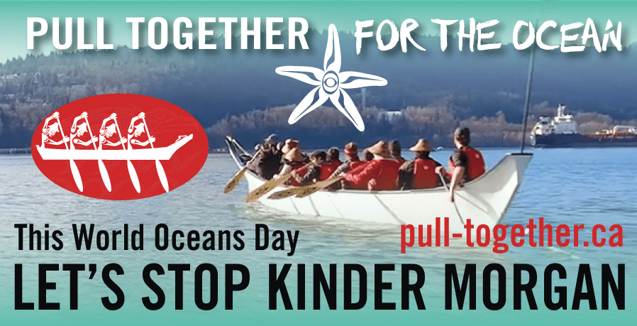 This World Ocean's Day, let's stop Kinder Morgan