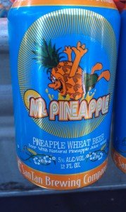"San Tan Brewing Co.'s ""Mr Pineapple"" wheat beer"