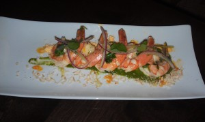 Shrimp Escabeche