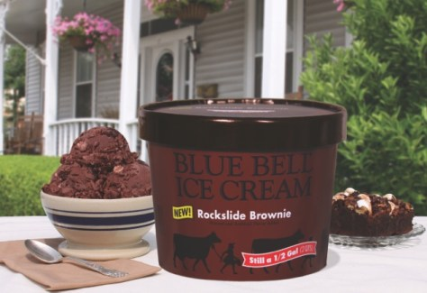 Blue Bell Creameries-Rockslide Brownie