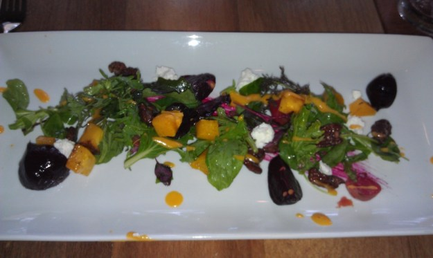 Virtu's Roasted Beet salad