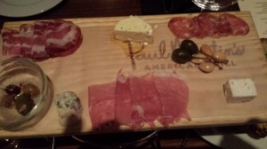 Paul Martin's Charcuterie plate