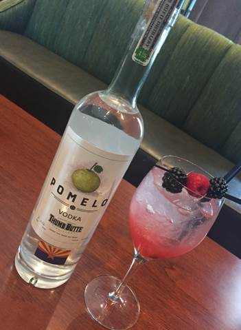 Just in time for spring Pomelo at The Orchard offers Happy Hour all day