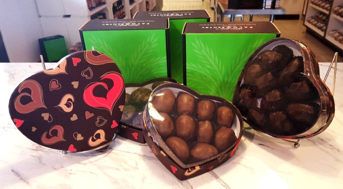 Sphinx Date Company offers chocolate covered dates for Valentine's Day