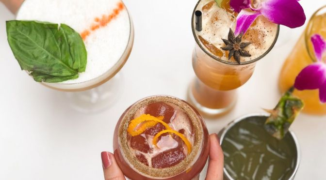 Cool off this summer with refreshing cocktails and wine at Zuzu