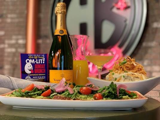 CB Live doesn't stop the party during new Om-Lit! Brunch