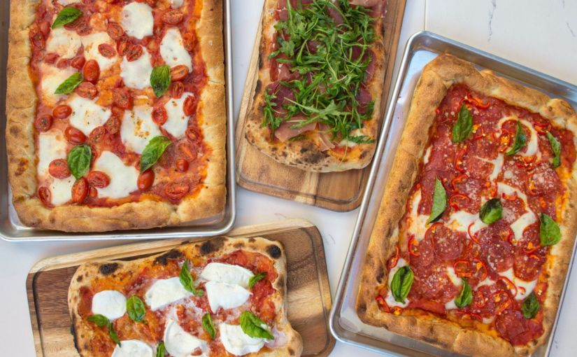 Pomo Pizza serving Pinsa and more at Biltmore Fashion Park