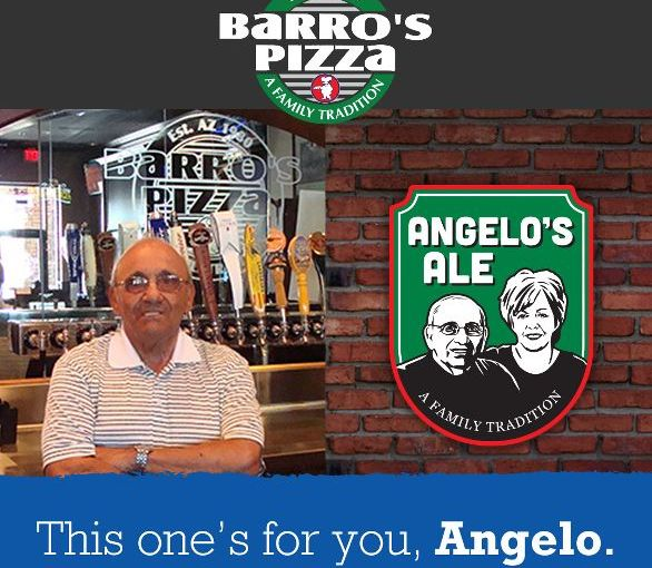Angelo's Ale on tap at Barro's Pizza in the East Valley