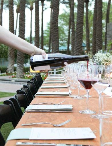 Domaine Carneros dinner hosted by Hyatt Regency Scottsdale Resort