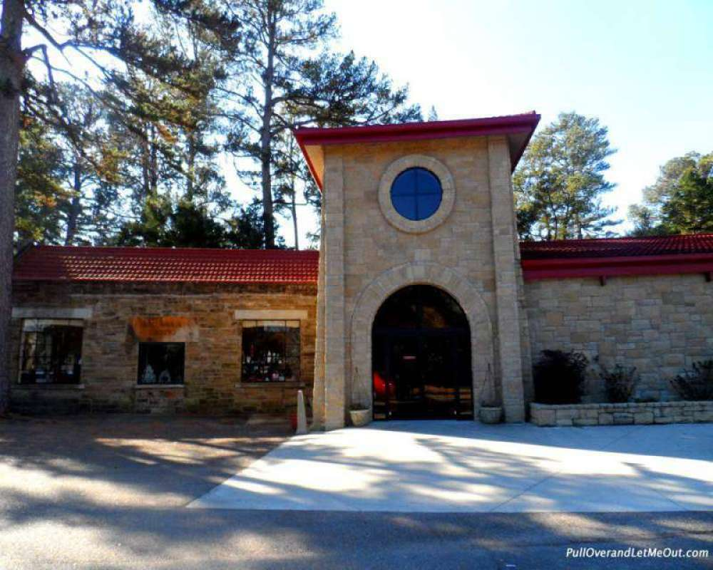 Visitor Center at Ave Maria Grotto in Cullman, Alabama