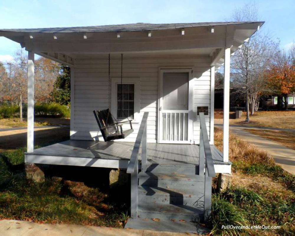 The two-room house where Elvis Presley was born January 8, 1935