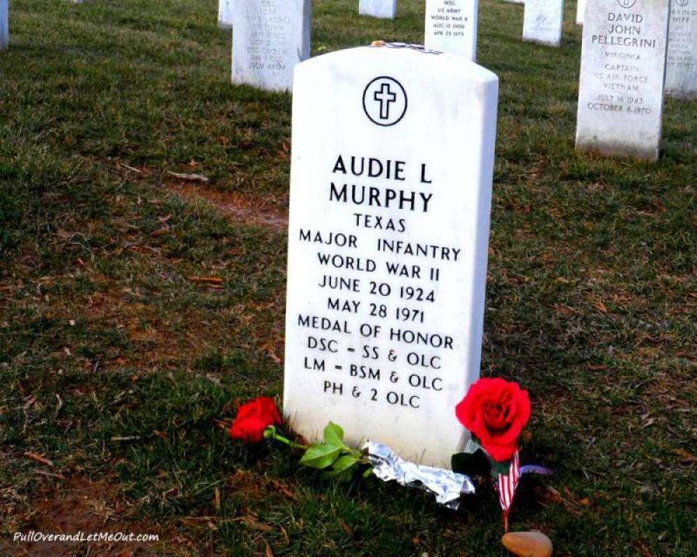 Audie-Murphy-grave