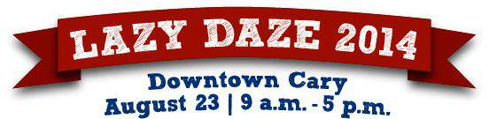 Lazy Daze 2014-town of Cary