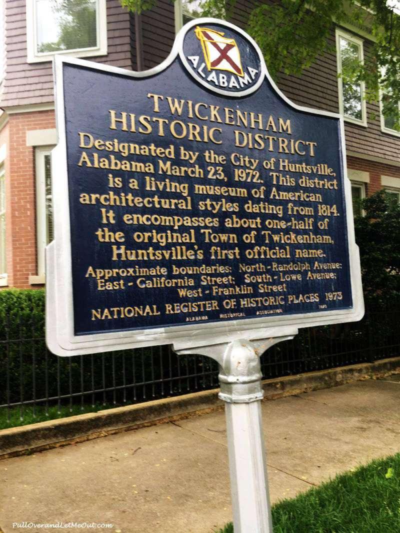 Huntsville, Alabama Twickenham District PullOverandLetMeOut