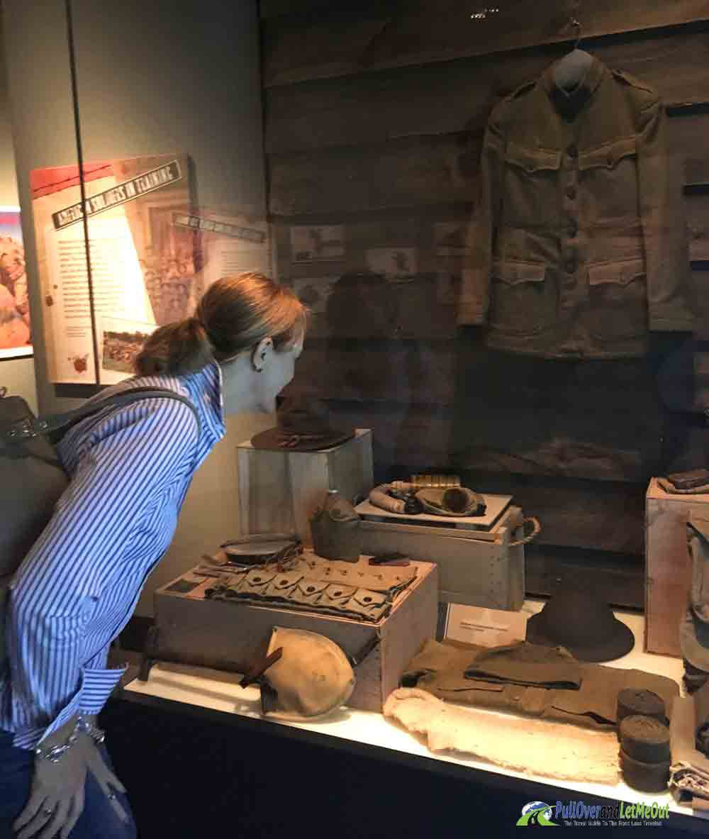 WWI Exhibit NC Museum of History PullOverandLetMeOut