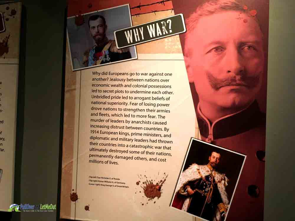 Why War NC Museum of History PullOverandLetMeOut