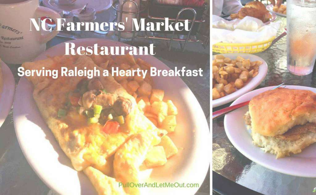 NC Farmers' Market Hearty Breakfast PullOverandLetMeOut