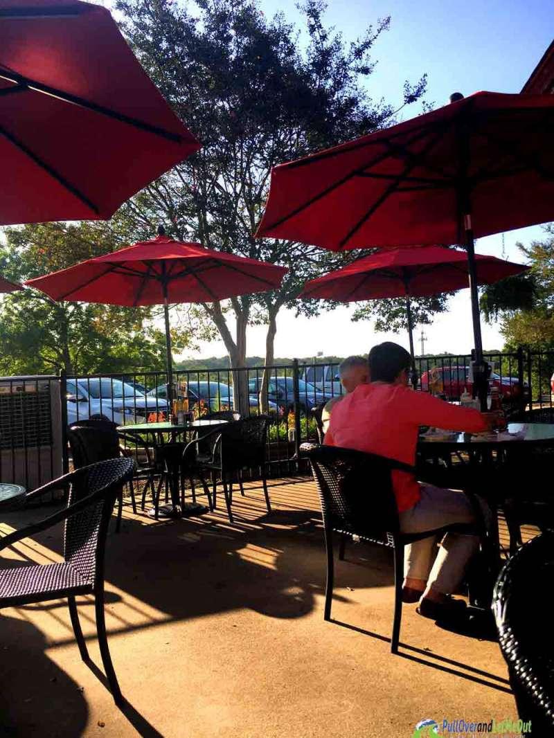 outdoor seating NC Farmers' Market Restaurant PullOverandLetMeOut