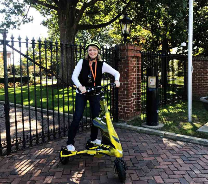 AM Trikke tour Triangle Glides Raleigh PullOverandLetMeOut