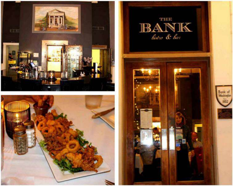 Bank Bistro and Bar Little Washington PullOverandLetMeOut