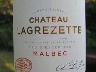 Chateau Lagrezette Malbec
