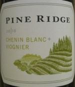 Pine Ridge Vineyards Viognier + Chenin Blanc