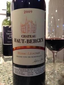 2009 Chateau Haut-Bergey image