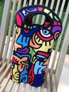 Billy The Artist Wine Carrier