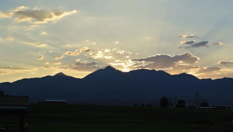 Sunset Mt. Wrightson