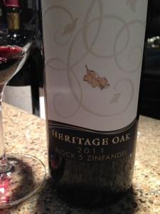2011 Heritage Oak Block 5 Zinfandel