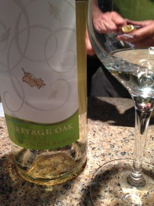 2012 Heritage Oak Sauvignon Blanc