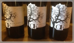 Red wines from Oak Farm Vineyards